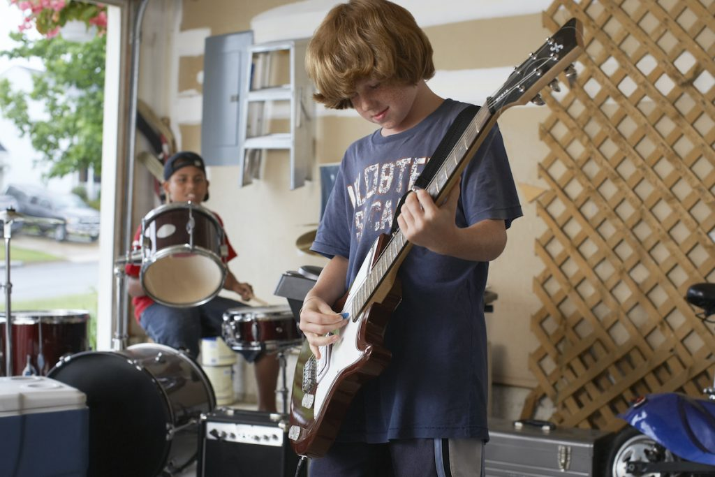 playful exploration: boys in a band