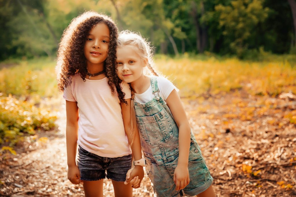 children with racial differences