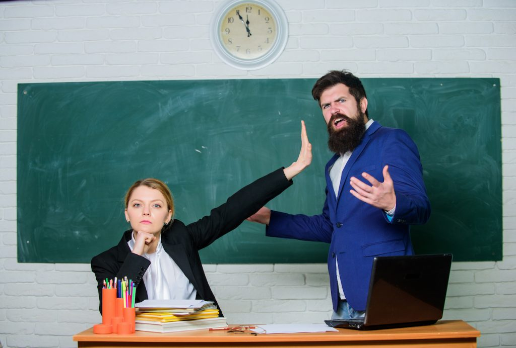 how not to raise concerns with your child's teacher